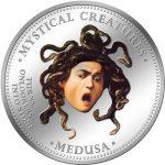 Cook Islands - 2009 - 1 Dollar - 7 Mystical Creatures MEDUSA (PROOF)