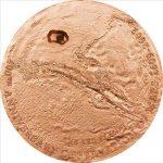 Cook Islands - 2009 - 5 Dollars - 400th Anniv. Observation of Mars (PROOF)