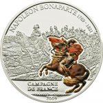 Cook Islands - 2009 - 5 Dollars - Great Battles & Commanders NAPOLEON (PROOF)
