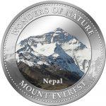 Cook Islands - 2009 - 1 Dollar - 7 Wonders of Nature MOUNT EVEREST (PROOF)