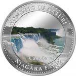 Cook Islands - 2009 - 1 Dollar - 7 Wonders of Nature NIAGARA FALLS (PROOF)