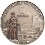 Cook Islands - 2010 - 5 Dollars - De Hanze stad GDANSK in Poland (ANTIQUE)