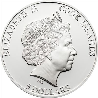 Cook Islands - 2012 - 5 Dollars - Vespucci (incl box) (PROOF)
