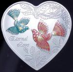 Cook Islands - 2013 - 1 Dollar - Messages of Love ETERNAL LOVE (PROOF)