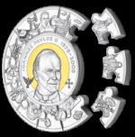 Cook Islands - 2014 - 100 Dollars - John Paul II Canonization  (PROOF)