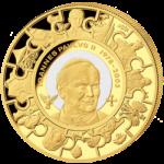 Cook Islands - 2014 - 200 Dollars - John Paul II Canonization 5 oz Gold (PROOF)