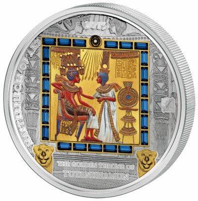 Cook Islands - 2015 - 20 & 25 Dollars - Masterpieces of Art GOLDEN THRONE (PROOF)