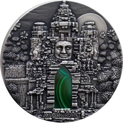 Congo - 2016 - 10.000 CFA Francs - Angkor Wat 1KG (ANTIQUE)