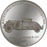 Congo - 2003 - 10 Francs - Auburn Spedster 9-120 1929 (PROOF)