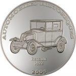 Congo - 2003 - 10 Francs - Renault 1922 (PROOF)