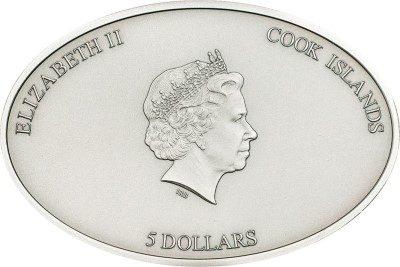 Cook Islands - 2013 - 5 dollars - Raphaels Room NANO (including box) (PROOF)