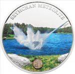 Cook Islands - 2012 - 5 dollars - Seymchan Meteorite (including box) (PROOF)