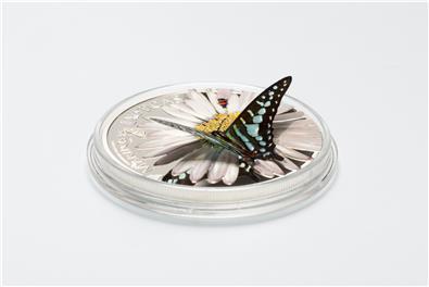 Equatorial Guinea - 2015 - 1000 Francos CFA - Butterflies in 3D MARIPOSAS EXOTICAS (PROOF)