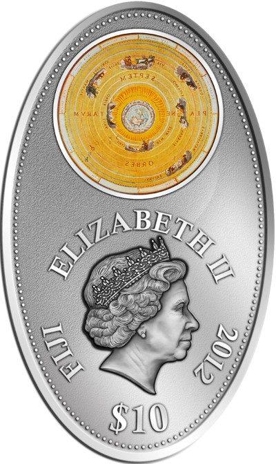 Fiji - 2012 - 10 dollar - Apocalypse III Ptolemy (PROOF)