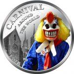 Fiji - 2012 - 1 Dollar - Carnival around the World BASEL (PROOF)