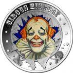 Fiji - 2013 - 1 Dollar - Circus THE CLOWN (PROOF)