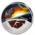 Fiji - 2012 - 10 dollar - Meteorites JILIN (PROOF)