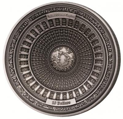 Samoa - 2017 - 10 Dollars - United States Capital 4 Layer