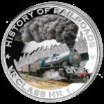 Liberia - 2011 - 5 Dollar - Railroad VR CLASS HR1 (PROOF)