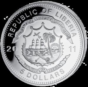 Liberia - 2011 - 5 dollar - Railroad AUSTRIAN STATE ()
