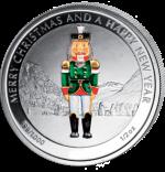 Liberia - 2 dollar - Nutcracker (PROOF)