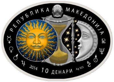 Macedonia - 2014 - 10 Denars - Signs of the Zodiac VIRGO (PROOF)
