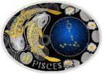 Macedonia - 2015 - 10 Denars - Zodiac Signs PISCES (PROOF)
