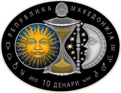 Macedonia - 2015 - 10 Denars - Zodiac Signs TAURUS (PROOF)