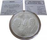 Malawi - 2008 - 10 Kwacha - Pope JPII & Father Tansi 10th Ann. Beatification (silver) (PROOF)