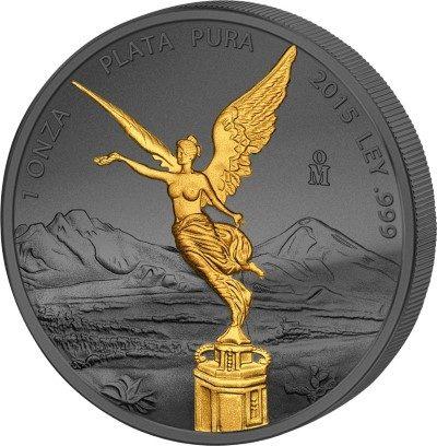 Mexico - 2015 - Golden Enigma LIBERTAD (BU)