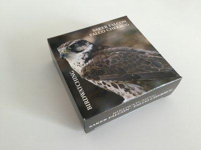 Mongolia - 2015 - 250 Tugrik - Birding SAKER FALCON (PROOF)