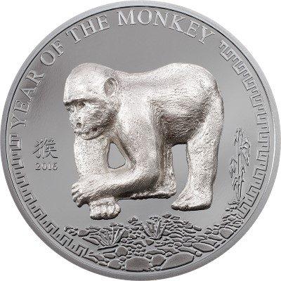 Mongolia - 2016 - 500 Togrog - Year of the Monkey (including box) (PROOF)