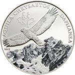 Mongolia - 2013 - 500 Togrog - Golden Eagle (including box) (PROOF)