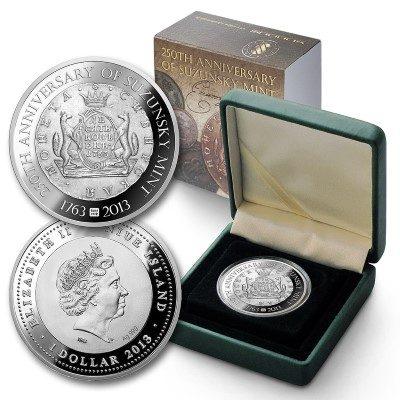 Niue - 2013 - 1 Dollar - 250th Anniversary of Suzunsky Mint (PROOF)