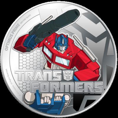 Niue - 2013 - 2x2 Dollar - Transformers (PROOF)