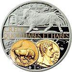 Niue - 2014 - 1 Dollar - Aureus Taurus (PROOF)