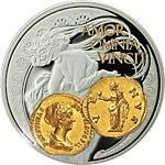 Niue - 2014 - 1 Dollar - Aureus Venus (PROOF)