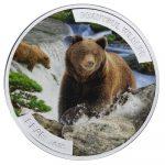 Niue - 2015 - 1 Dollar - Beautiful Wildlife BEAR (PROOF)