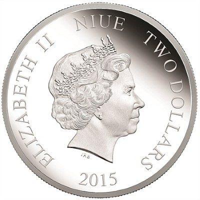 Niue - 2015 - 2 Dollars - Thunderbird 2 (PROOF)
