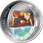Niue - 2016 - 2 Dollars - Mirror Coins NARCISSUS (ANTIQUE)