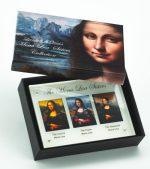 Niue - 2014 - 3 x 5 Dollar - The Mona Lisa Sisters (PROOF)