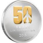 Niue - 2015 - 2 Dollars - Thunderbirds 50 Years 1oz Silver (PROOF)