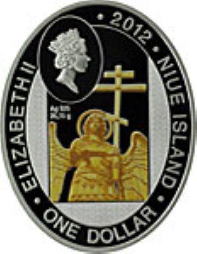 Niue - 2012 - 1 Dollar - Chapels serie IVERSKAYA CHAPEL (PROOF)
