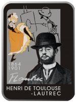 Niue - 2008 - 1 Dollar - Henri de Toulouse-Lautrec (BU)