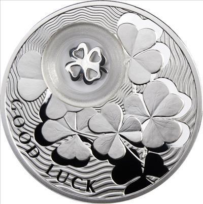 Niue - 2010 - 1 Dollar - Clover LOCKED (PROOF)