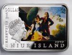 Niue Island - 2010 - 1 dollar - Painters of the World FRANCISCO GOYA (PROOF)