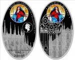 Niue - 2010 - 1 Dollar - Cathedrals MILAN (PROOF)
