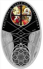 Niue - 2010 - 1 Dollar - Cathedrals PRAHA (PROOF)