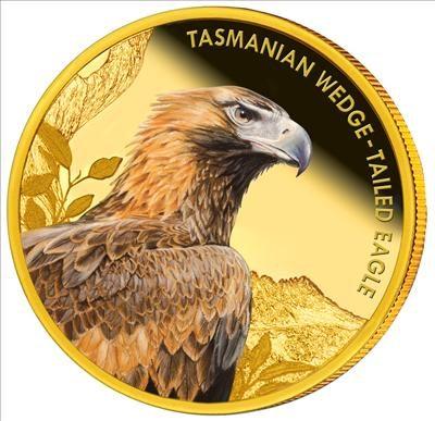 Niue - 2012 - 100 Dollars - Tasmanian Eagle (PROOF)