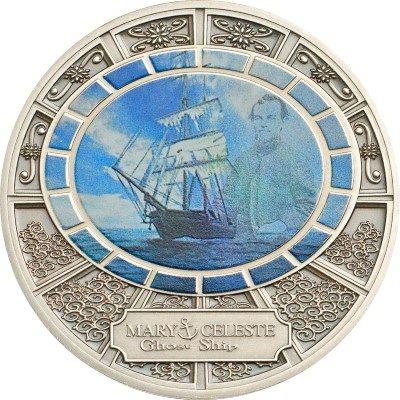 Niue - 2013 - 1 dollar - Ghost Ships Mary Celeste (PROOF)
